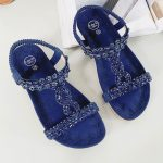 Sandaal Lauren blauw
