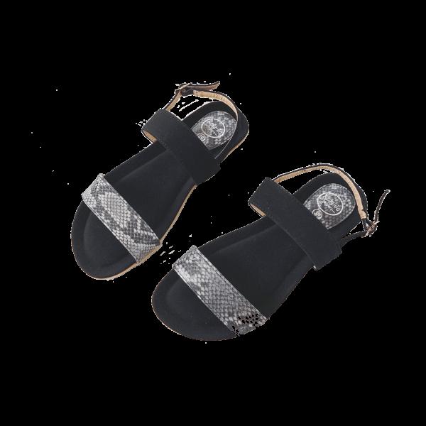 Sandaal 3 zwart