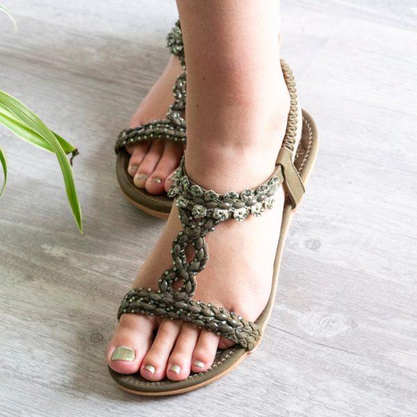 Sandaal Lauren groen model