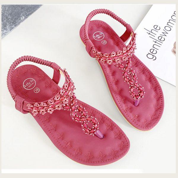 Sandaal Abby rood
