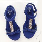 Sandaal Jasmijn blauw