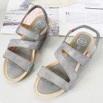 Sandaal Britt grijs