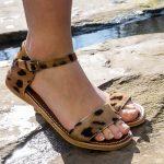 Sandaal Cheyenne tijgerprint