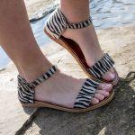 Sandaal Josine zebraprint